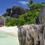 Ein Traumstrand auf den Seychellen