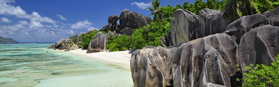 Traumstrand auf den Seychellen