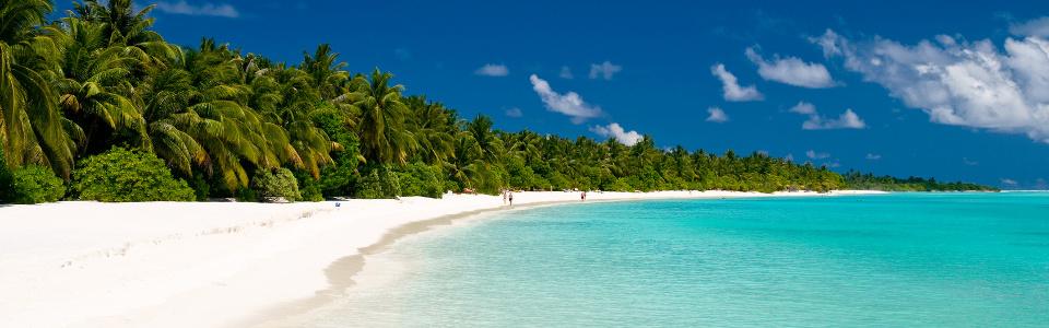 Endloser Strand zum träumen