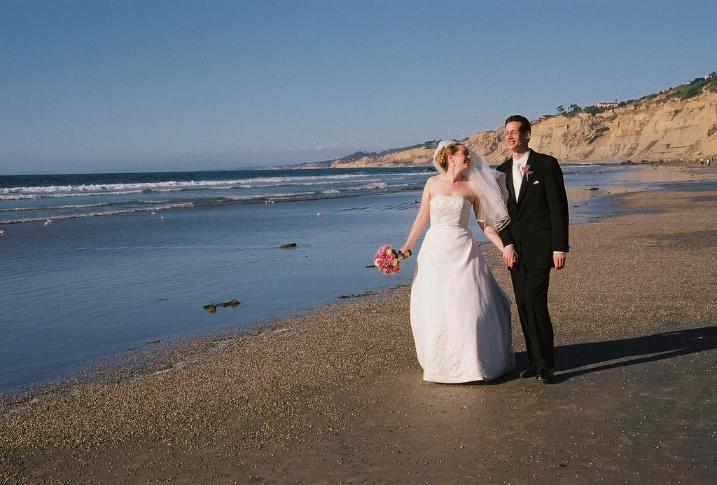 Heiraten am Strand in Dänemark