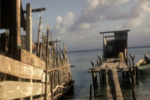 Ozeantoilette in der Karibik