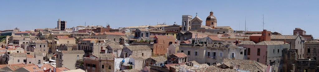 Die Altstadt von Cagliari (Castello)