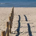 Ein Strand bei Livorno