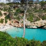 Strand Caló des Moro auf Mallorca