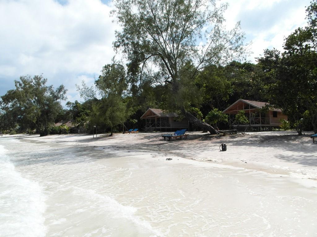 Bungalows auf Koh Rong
