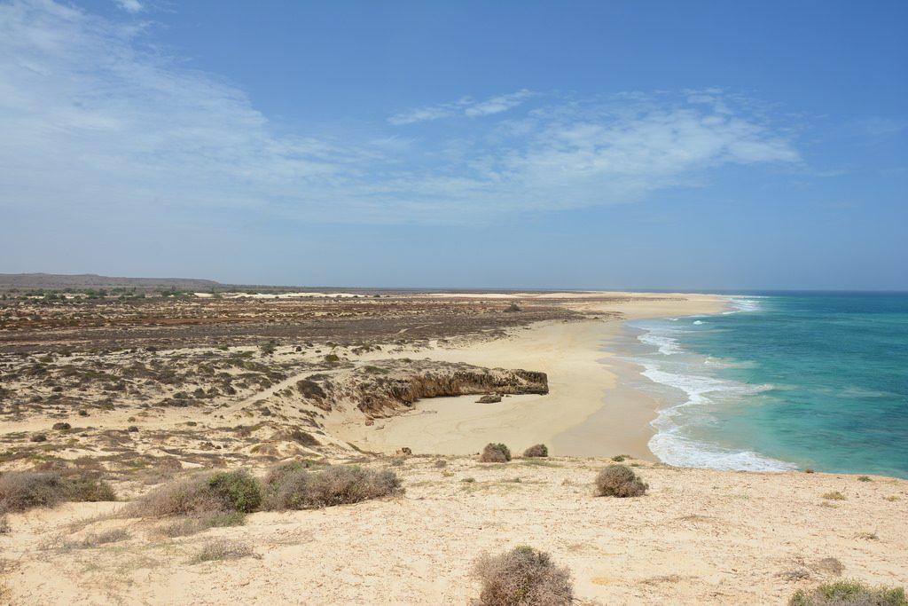 Strand von Sal Rei auf Boa Vista (Kapverden)