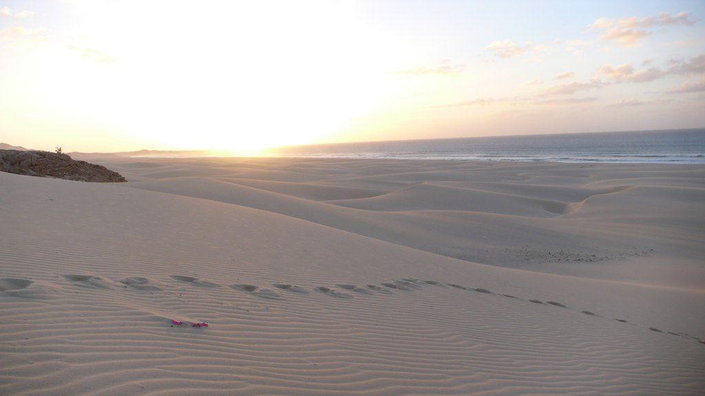 Strand auf Boa Vista (Kapverden)