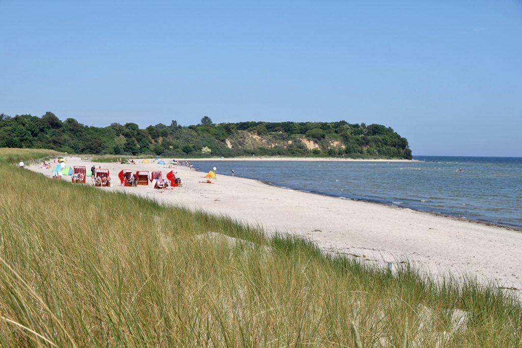 Strand südlich des Lobber Ort