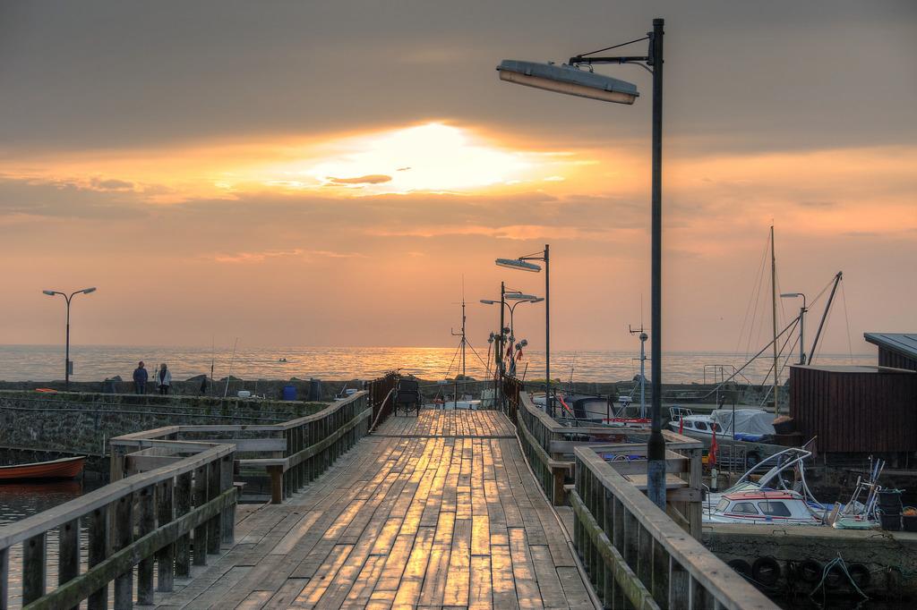 Die Ostsee bei Bornholm im Oktober