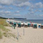 Dünen, Sand und Strandkörbe am Nordstrand von Göhren
