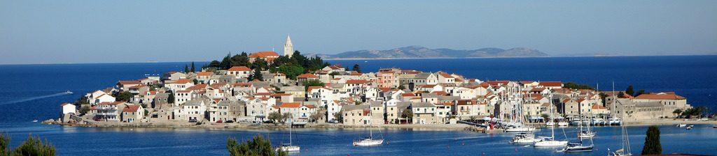 Primošten bei Split in Kroatien im Mai