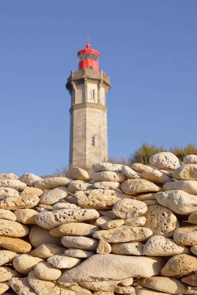Leuchtturm auf der Île de Ré in Frankreich