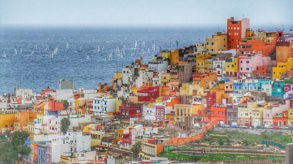 Regatta in Las Palmas de Gran Canaria