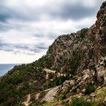 Küstenstraße auf Mallorca im September